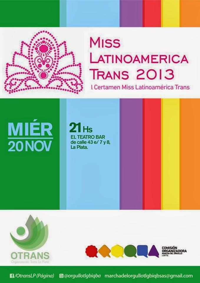 Primer certamen Miss Latinoamérica Trans