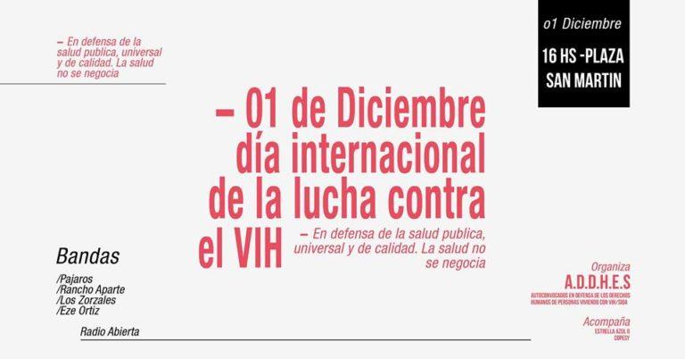 Preparan festival por el Día Internacional de la lucha contra el VIH