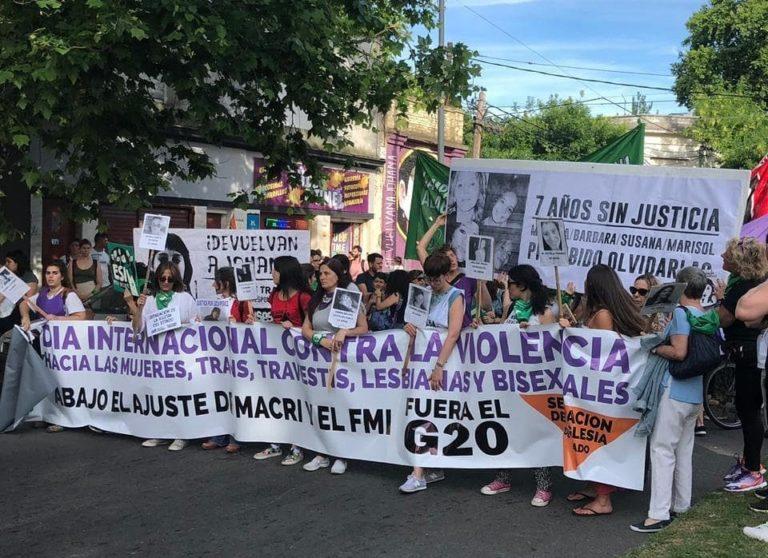 La Plata marchó contra la violencia hacia las mujeres