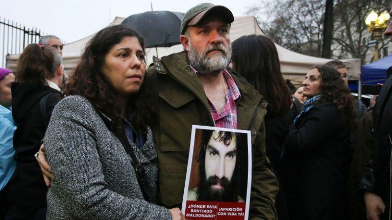Cierran la causa que investiga la muerte de Santiago Maldonado