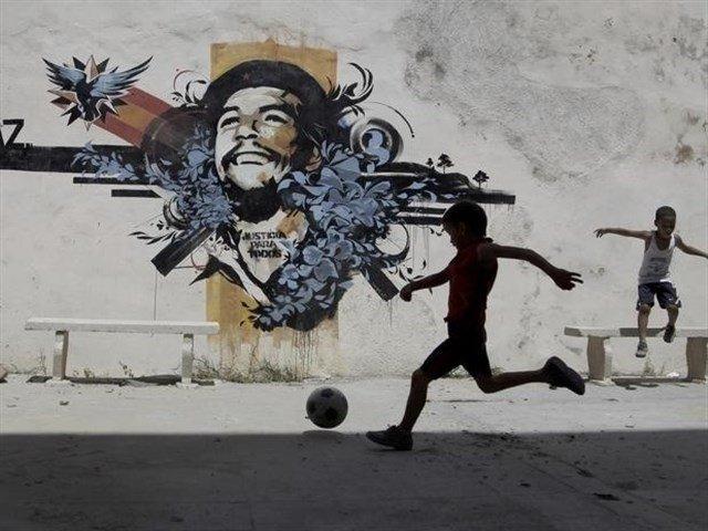 Un club de barrio en Córdoba en homenaje al Che Guevara