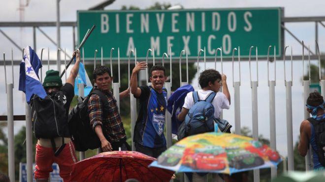 México: las caravanas migrantes entre la solidaridad ciudadana y la extorsión de las mafias